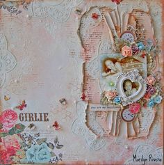 A step by step video tutorial by Marilyn Rivera for My Creative Scrapbook.