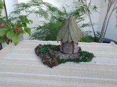 """""""Laurel"""" Fairy House Landscape"""