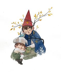 Over the garden wall by Rozenng.deviantart.com on @DeviantArt
