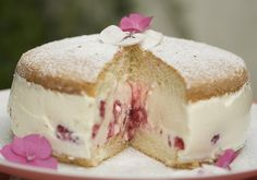 Raspberry & Quark Cheese Summer Cake with Me Mate Sacha… | Dirty Kitchen Secrets