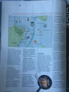 Lyon, Bullet Journal, Map, Opera, Cards, Maps