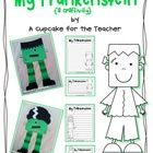 With this cute craftivity, your little ones will create their very own Frankenstein {or Bride of Frankenstein}!!  Then they can use the included pr...