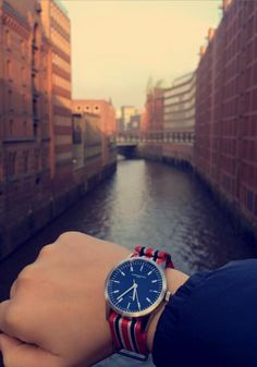 L1 watch from Maurice de Mauriac, in Hamburg, Germany.