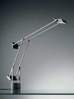Tizio, by Richard Sapper for Artemide  Visit http://www.contemporarylighting.eu for more inspiring images and decor inspirations