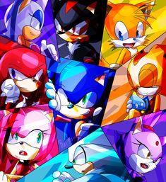 Sonic Group01 by blaze-baitong.deviantart.com on @deviantART