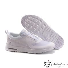 Nike Air Max Thea Mens Womens All White PREMIUM