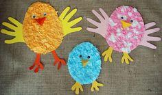 pollitos de pascua para preescolar