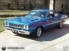1968 Plymouth Roadrunner...I had one of these <3  memories