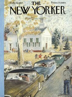 The New Yorker - Saturday, October 26, 1957 - Issue # 1706 - Vol. 33 - N° 36 - Cover by : Garrett Price