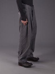 BORIS BIDJAN SABERI - Billowed Cotton Trouser - P1 F1810 C2 - H. Lorenzo
