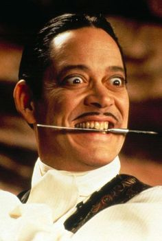 Raul Julia - lol... as Gomez Addams