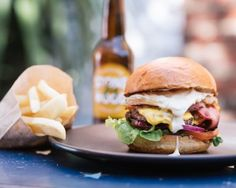 Try some of the best burgers in Melbourne at North Melbourne burger restaurant Wonky Trolley. Burger Restaurant, Burger Bar, Good Burger, Burgers And More, Cool Bars, Hamburger, Melbourne, Ethnic Recipes, Food