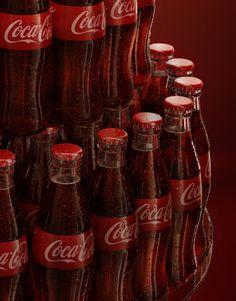 Coca Cola Bottle - Happy Century on Behance