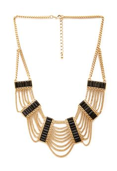 Chained Deco Necklace - Accessories - 1000123036 - Forever 21 EU