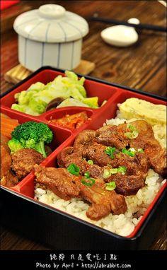 fried pork cartilage bento | Taiwanese food