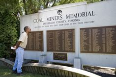 Coal Miners Memorial in Dickenson County, Virginia.