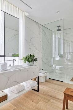 Modern Luxury Bathroom, Bathroom Design Luxury, Bathroom Layout, Modern Bathroom Design, Home Design Decor, Home Room Design, Bathroom Design Inspiration, Design Ideas, Best Bathroom Designs