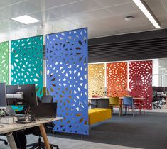 Acoustic Screens, Dividers & Partitions - Supply & Install   Resonics