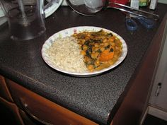 Slimming World Recipes: SWEET POTATO, CHICK PEA & SPINACH CURRY
