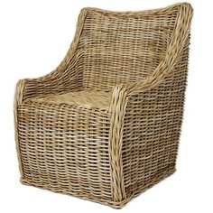 Contemporary Wicker Chair   From a unique collection of antique and modern chairs at https://www.1stdibs.com/furniture/seating/chairs/
