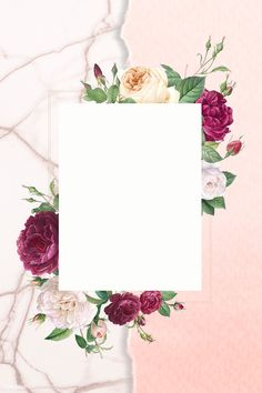 Flower Background Wallpaper, Cute Wallpaper Backgrounds, Flower Backgrounds, Cute Wallpapers, Iphone Wallpaper, Wedding Frames, Wedding Cards, Instagram Frame, Floral Logo