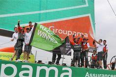 Groupama 4 wins the in-port race ! / Groupama in the Volvo Ocean Race