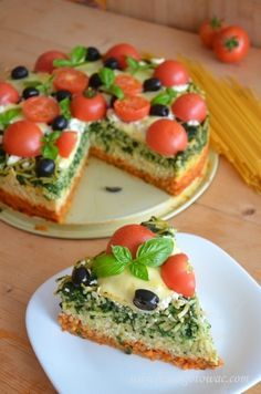 Polish Recipes, Savoury Cake, Italian Recipes, Catering, Cravings, Sweet Tooth, Food Porn, Dessert Recipes, Food And Drink