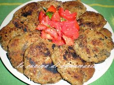 Hamburger di melanzane, ricetta vegetariana