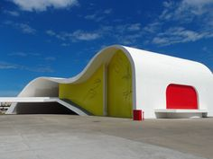 Oscar Niemeyer, Popular Theatre of Niteroi, Rio de Janeiro, 2007