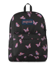 Superbreak® backpack Featuring its classic silhouette, the JanSport SuperBreak is ultralight for everyday use. The backpack is available in more than 30 different colors and prints, perfect for every style of self expression. Pretty Backpacks, Cute Backpacks For School, Cute School Bags, Cute Mini Backpacks, Unique Backpacks, College Backpacks, College Bags, Cute Jansport Backpacks, Jansport Superbreak Backpack