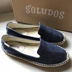 Finally it's arrived, my Soludos Espardilles😘😍  #soludos #soludosespardilles