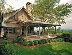 e-Plans Low Country House Plan – Cabin Style Plan With Full Length ...
