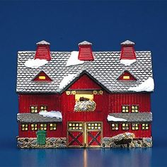 Department 56 The Original Snow Village Red Barn ** Click image to review more details.