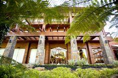Foyer Externo do Hotel Alpestre em Gramado