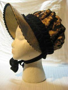 Regency bonnet tutorial!