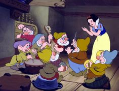 Disney History | The Walt Disney Company Snow White and the Seven Dwarfs, Disney's first feature-length animated film, premieres at the Carthay Circle Theatre. 1937