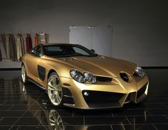 ☆ Unique gold MB SLR ☆