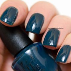 OPI - CIA = Color is Awesome - http://www.mynailpolishonline.com/2016/10/opi/opi-cia-color-is-awesome/