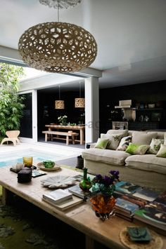 Contempory edge with original style meets tropical