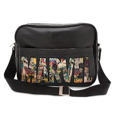 Marvel Comics Messenger Bag - Visit to grab an amazing super hero shirt now on sale! Marvel Fashion, Geek Fashion, Disney Fashion, Marvel Avengers, Marvel Backpack, Disney Handbags, Marvel Clothes, Dc Comics, Fandom Fashion