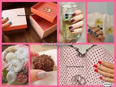 @Arigazzo Esmalte e Dia da Mulher. Woman, Women, Nails, Nail Polish