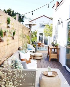 Bohemian Decor Ideas for Outdoor Patio Space🏡 - ❤It looks like I should be able to enjoy some coffee on my deck this morning but it won't be the - Outdoor Spaces, Outdoor Living, Budget Home Decorating, Decorating Ideas, Modern Architects, Home Improvement Loans, Backyard Patio, Pergola, Outdoor Decorations