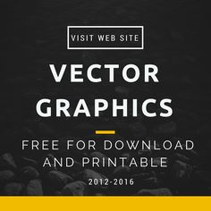 Free Vector Graphics for download. More than 10000+ vectors on any themes. Animals, Backgrounds, Banners, Birthday, Christmas, Easter, Greeting cards, Labels, Ornament, Silhouettes, Valentine, Wedding.