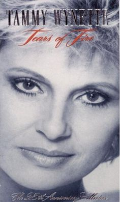Tears Of Fire: The Anniversary Collection Sometimes it is hard to be a woman. That, of course, is the central line in Tammy Wynette's signature song, and Country Music Videos, Country Music Artists, Country Singers, Good Music, My Music, Real Country Girls, Country Style, Tammy Wynette, People Of Interest