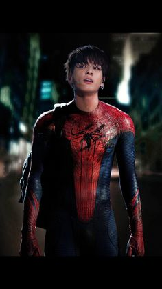 Spider Man jungkook