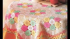Crochet Tutorial On Dailymotion : crochet tablecloth patterns crochet tablecloth tutorial crochet ...