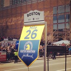 One SELF Staffer Reflects on Her Boston Marathon Experience : Why today is a day she'll never forget. #SelfMagazine