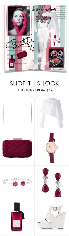 """When the rose defeat the ice..."" by nannerl27forever on Polyvore featuring J.W. Anderson, Elie Saab, Jessica McClintock, Grace, Radley, Bayco, AME, Diana Vreeland and Qupid"