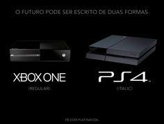 PS4 versus XBOX One #tecnologistas
