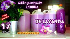 SABÃO GLICERINADO DE LAVANDA S/ USAR SODA CAUSTICA - MARAVILHOSO CUSTO -...